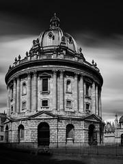 Noxford (jip_and_elsewhere) Tags: camera uk longexposure england bw architecture blackwhite long exposure library oxford radcliffe ultra oxforduniversity canonfd24mmf28 sonya7ii