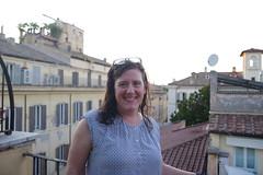 Amy (Area Bridges) Tags: rome italy 2019 201908 20190805 august hotelhoms view balcony