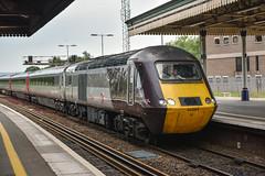 43384+43357, Exeter St. David's (JH Stokes) Tags: crosscountrytrains hst highspeedtrain class43 43384 trains trainspotting tracks transport railways locomotives photography publictransport exeterstdavids decon devon