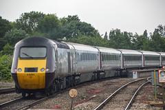 43321+43285, Exeter St. David's (JH Stokes) Tags: crosscountrytrains hst highspeedtrain class43 43321 trains trainspotting tracks transport railways locomotives photography publictransport exeterstdavids decon devon