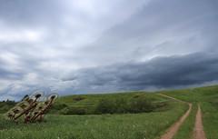 Dark Clouds (Danny VB) Tags: dark clouds darkclouds road farm farming life hay weather bad meteo gaspésie québec canada vacances holiday summer canon eos m10 mirrorless
