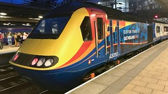 Rear (_J @BRX) Tags: train locomotive rail railway railroad station leeds yorkshire england uk eu summer august 2019 hst class43 43050 eastmidlandstrains 11years 125 5z43 nevillehill trsmd