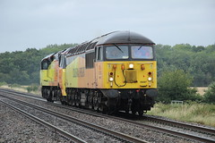 56078 & 70808 (0Z75) (Worcestershed) Tags: 56078 70808 colas colasrailfreight class56 class70