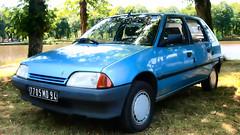 Citroën AX 11 TRS (Skylark92) Tags: outdoor vehicle française voiture automobile auto car french frankrijk france loire et eure eureetloire 28 fertévidame la 2019 de centenaire célébration citroën 100 ans fertevidame ax 11 trs 7705md94 1989