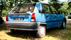 Citroën AX 11 TRS (Skylark92) Tags: outdoor vehicle française voiture automobile auto car french frankrijk france loire et eure eureetloire 28 fertévidame la 2019 de centenaire célébration citroën 100 ans fertevidame 1989 7705md94 trs 11 ax