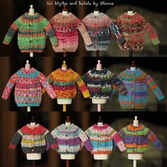(Ulanna) Tags: blythe holala clothes cardigan