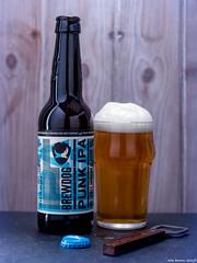 Brewdog Punk IPA (revisited) (Biff_Brown) Tags: beer bottle beverage glass bottleopener affinityphoto panasonicg6 lumix yongnuoyn560iii speedlite
