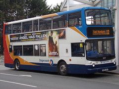 Stagecoach ADL Trident (ADL ALX400) 18407 KX06 JXY (Alex S. Transport Photography) Tags: bus outdoor road vehicle stagecoach stagecoachmidlandred stagecoachmidlands alx400 alexanderalx400 dennistrident trident adlalx400 adltrident route12 18407 kx06jxy