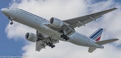 Air France, F-GSPB, 1998 Boeing B777-228 ER, MSN 29003, LN 133 (Gene Delaney) Tags: airfrance fgspb 1998boeingb777228er msn29003 ln133