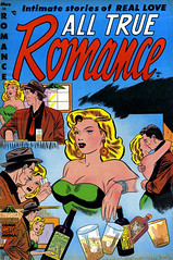 All True Romance #11 (1953), cover by Pete Morisi (gameraboy) Tags: alltrueromance 11 1953 cover petemorisi 1950s comic comics comicbook comicbookart vintage art illustration woman romance romancecomics