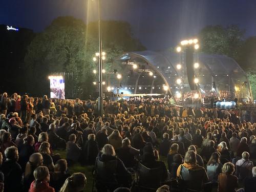 Konsert på Slottsplassen