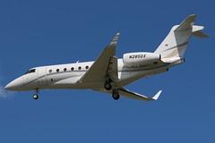 N285DX IAI Gulfstream G280 at KCLE (GeorgeM757) Tags: n285dx iai iaigulfstreamg280 bizjet businessjet aircraft aviation airplane kcle georgem757 canon70d landing