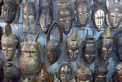 Masken (Don Claudio, Vienna) Tags: afrika tage wien vienna donauinsel musik music africa days event donau basar food