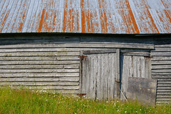the way of all wood (jtr27) Tags: dscf8591xl jtr27 forillon national park quebec canada weathered wood barn thewayofall