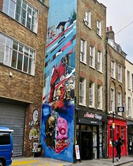 NSFW Crew Mural, London, UK (Robby Virus) Tags: london england uk unitedkingdom britain greatbritain tom blackford ewan nsfw crew mural street art