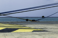 0330_29 (stevef325) Tags: approved pier ropes shipping ships ocean sea water caribbean tropical
