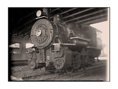 36 NEW YORK CENTRAL 0-6-0 type Steam Locomotive, 6721, Utica, NY (Sergei Prischep) Tags: improvedsenecaviewcamera1906 carlzeissf45210mm drp tessarlens1914 thorntonpickard woodenshutter 5x7 xrayfilm film largeformat seneca viewcamera tessar 210mm