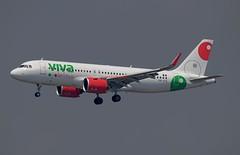 Viva Aerobus Airbus A320-271N XA-VIO (Fasil Avgeek (Global Planespotter)) Tags: viva aerobus airbus a320271n xavio air airways airlines airport jfk kjfk a320neo jet aircraft airplane airliner jetliner