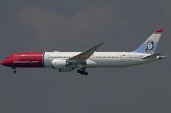 Norwegian Air UK Boeing 787-9 Dreamliner G-CKWF (Fasil Avgeek (Global Planespotter)) Tags: norwegian air uk boeing 7879 dreamliner gckwf airways airlines airport jfk kjfk jet aircraft airplane airliner jetliner charles lindbergh