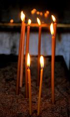 ultrathin candels (daniel virella) Tags: candels light church temple religion devotion agiosdimitrios thessaloniki greece unescoworldheritagesite θεσσαλονίκη