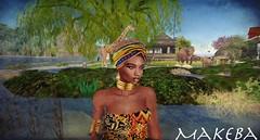 makeba at Home (Makeba La Reine) Tags: africa secondlife