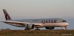 Airbus A350-900 Qatar Airways (Moments de Capture) Tags: airbus a350900 a350 qatarairways a7ame aircraft plane avion aeroport airport spotting lfpg cdg roissy charlesdegaulle onclejohn canon 5d mark3 5d3 mk3 momentsdecapture