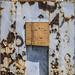 Door with Rust and Wood