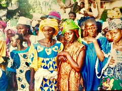 Women, at a Circumcision Party. (gerrypopplestone) Tags: pakalinding gambia africa circumcision party celebration ritedepassage women mothers family westafrica