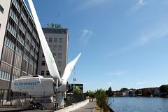 Hochschule für Technik und Wirtschaft Berlin (HTW Berlin) - Campus Wilhelminenhof Oberschöneweide 24-07-2019 (Detlef Wieczorek) Tags: htw oberschöneweide wilhelminenhof windradflügel