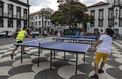 Ping-pong in the square (Dario Casali) Tags: streetphotography street children pingpong amuzement playing madera island summer