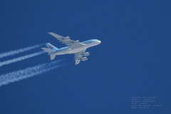 taken from my backyard 082 (planes, space, nature) Tags: korean air ke907 seoul london airbus a380861 38 474 hl7627