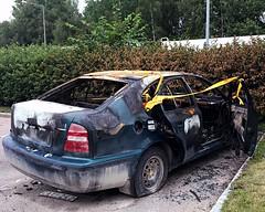 Burn Out (halleluja2014) Tags: decadence bojsenburg falun herrhagen afterfire bränd burned bilbrand bilbränder burnedcar