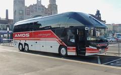 DSCN2531 Amos Reisen, Memmingen MM-A442 (Skillsbus) Tags: czechrepublic buses coaches germany neoplan starliner amosreisen