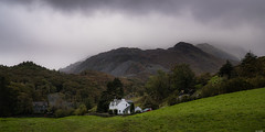 Between the hills (Rico the noob) Tags: 2018 d850 lakedistrict 2470mm nature mountains outdoor hills clouds 2470mmf28e trees panorama tree travel forest house published sky dof grass uk landscape mountain