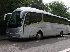 Plan Ahead Travel of Harrow Scania K360iB4 Irizar i6 WH15KFG at Johnston Terrace, Edinburgh, on 13 August 2019. (Robin Dickson 1) Tags: busesedinburgh planaheadtravelofharrow irizari6 scaniak360ib4 wh15kfg blakesofeastanstey bc15jab