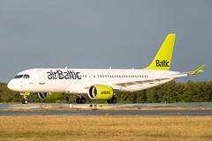 Air Baltic - CS300 / A220-300 [YL-AAQ] Luxembourg Findel Airport - 15/08/19 (David Siedler) Tags: airbaltic cs300 a220300 ylaaq luxembourg findel airport luxembourgairport findelairport luxellx