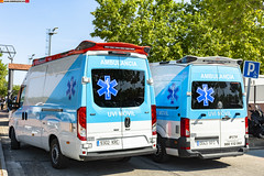 Iveco Daily y vw Crafter. Ambulancias Marina (juanemergencias) Tags: coche car vehicle madrid españa spain madridmemata madridmemola rescate rescue emergency emergencia ambulance ambulancia sva uvi uvimovil bluelights bluelight youtuber ambulanciaprivada ambulanciasmarina iveco daily ivecodaily nikond7100 nikon vw crafter volkswagen
