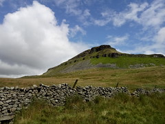 Pen-y-Ghent (fraktalisman) Tags: yorkshire yorkshiredales dales britain england europe travel summer 2019 green mountains fell nature countryside