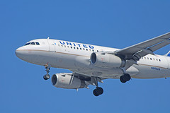 United A319-131 (N845UA) @KSNA (jebzphoto) Tags: united airlines airline plane planes planespotting aviation airport airports john wayne ksna commercial airbus a319