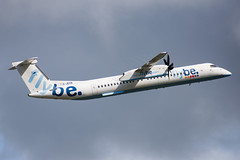 G-JECN (hartlandmartin) Tags: gjecn bombardier dhc8q402 flybe birmingham bhx egbb elmdon aircraft airport airline aeroplane aviation airplane plane nikon d7200 70300afp