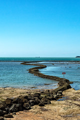 Corral Cabito (moligardf) Tags: océano atlántico pesca guadalquivir desembocadura paisaje chipiona naturaleza