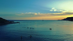 Sunset Paradise...  (-‿◦☀) (Mona Zimba) Tags: sunset beach bay portissol sanary provence côtedazur frenchriviera greenscene