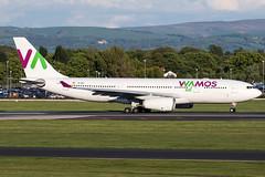 EC-MNY / Wamos Air / Airbus A330-243 (Charles Cunliffe) Tags: canon7dmkii aviation manchesterairport egcc man wamosair plm eb airbusa330 a330200 ecmny