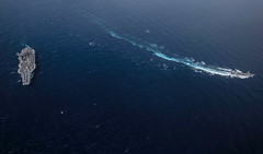 190815-N-PJ626-5787 (U.S. Pacific Fleet) Tags: masscommunicationspecialist2ndclasskailavpeters ussronaldreagan cvn76 forwarddeployedaircraftcarrier carrierstrikegroup5 maritime usnavy japan cfay commanderfleetactivitiesyokosuka yokosukaairpower seapower indopacific philippinesea