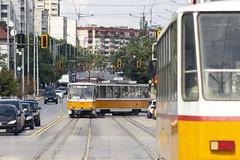 4128 + 4126 - 20 (CometBG) Tags: tram tramwaj sofia strassenbahn ckd tatra t6b5