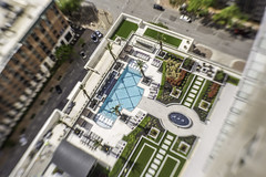 Catalyst Pool Deck - Lensbaby - No. 3 (Mabry Campbell) Tags: catalyst harriscounty houston texas usa unitedstatesofamerica zieglercooper architecture building down downtown image lensbaby photo photograph photography pool residential mabrycampbell march 2018 march232018 20180323houstoncampbellh6a3253 ¹⁄₂₀₀sec 100