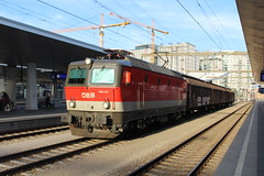 ÖBB 1144 271 at Wien Hauptbahnhof 9 august 2019 (Remco van den Bosch 72) Tags: wenen wien wienhauptbahnhof eisenbahn electrischelocomotief eloc elok railway rails railwaystation trein train transport treinspotten trainspotting track austria spoor spoorwegen station freighttrain goederentrein güterzug goederenwagon cargo cargotrain vienna bahn bahnhof locomotief locomotive oostenrijk öbb