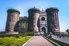 Napoli (2) (kingu_y) Tags: napoli naples italy italian europe travel flickr photo castle samsung s9 phone smartphone
