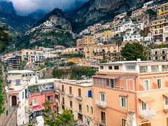 Positano and Sorrento (7) (kingu_y) Tags: napoli naples italy italian europe travel flickr photo view positano mountains houses buildings samsung s9 phone smartphone