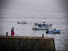 Lovers on the pier (An Arzhig) Tags: lovers couple pier harbour bretagne bzh breizh jetée france panasonic lumix gx800 micro 43 groix